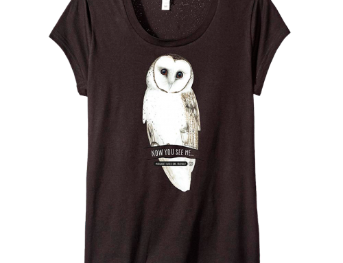 Get your owl t-shirt now!