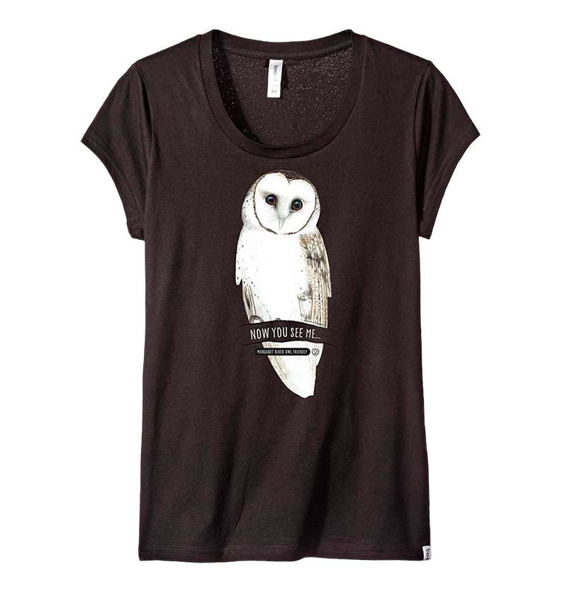 masked owl t-shirt