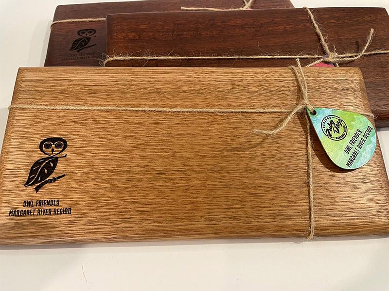 owl friendly chopping board